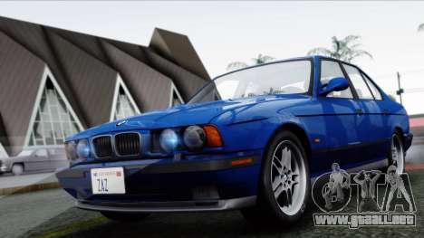 BMW M5 E34 US-spec 1994 (Full Tunable) para GTA San Andreas left
