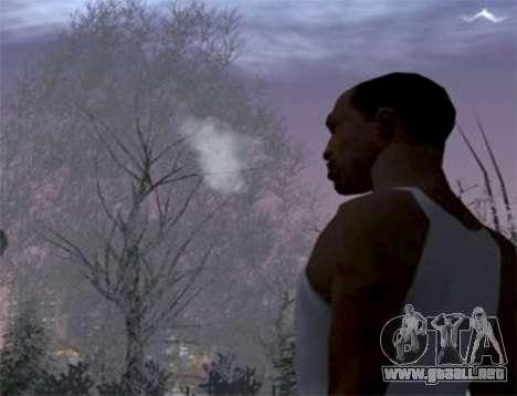 El vapor de la boca para GTA San Andreas
