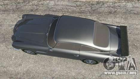 GTA 5 Aston Martin DB5 Vantage 1965 vista trasera