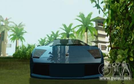 Lamborghini Murcielago 2005 para la visión correcta GTA San Andreas