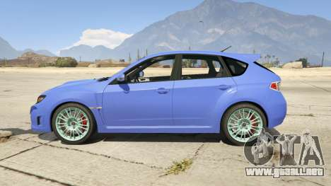 Subaru Impreza WRX STI 1.1 para GTA 5