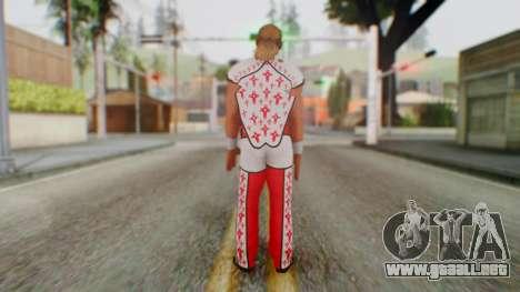 WWE HBK 2 para GTA San Andreas tercera pantalla