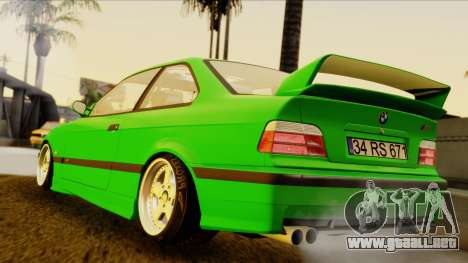 BMW M3 E36 [34RS671] para GTA San Andreas left