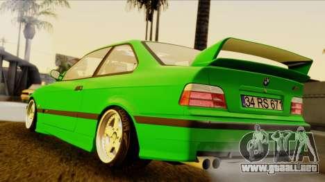 BMW M3 E36 [34RS671] para GTA San Andreas left