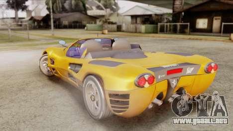 Ferrari P7 Cabrio para GTA San Andreas left