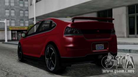 GTA 5 Cheval Surge IVF para GTA San Andreas left