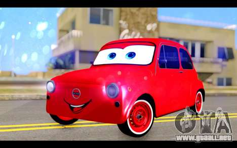 Zastava 750 - The Cars Movie para GTA San Andreas