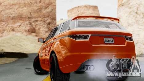 GTA 5 Gallivanter Baller LE Arm IVF para GTA San Andreas left