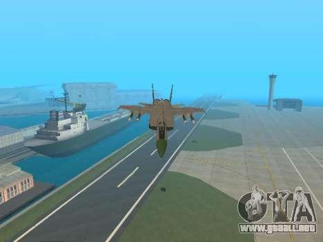El MiG 25 para la vista superior GTA San Andreas