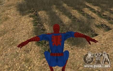 Amazing Spider-Man Comic Versión Robinosuke para GTA San Andreas quinta pantalla