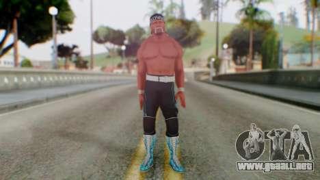 Holy Hulk Hogan para GTA San Andreas segunda pantalla