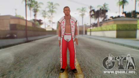 WWE HBK 2 para GTA San Andreas segunda pantalla