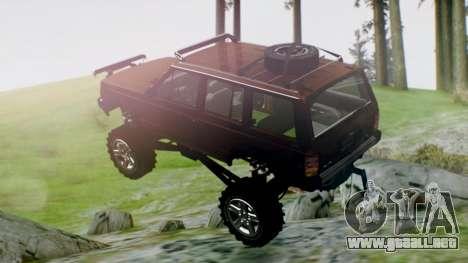 Jeep Cherokee 1984 4x4 para GTA San Andreas left