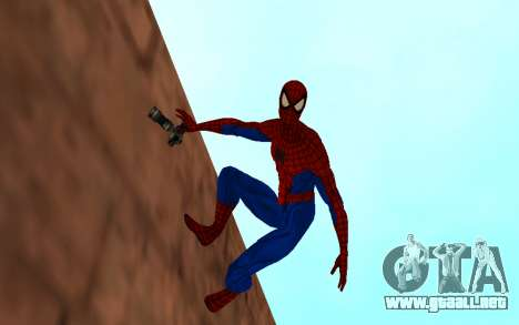 Amazing Spider-Man Comic Versión Robinosuke para GTA San Andreas segunda pantalla