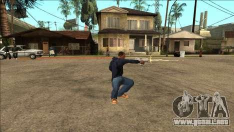 Animación adicional TEC-9 para GTA San Andreas
