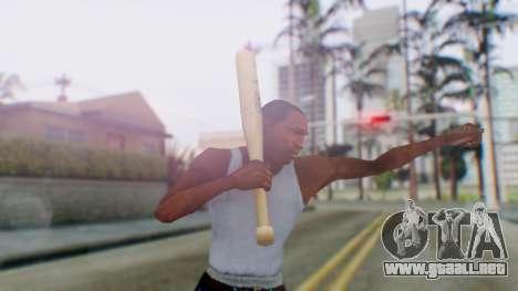 Vice City Baseball Bat para GTA San Andreas tercera pantalla