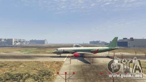GTA 5 Embraer 195 Wind segunda captura de pantalla