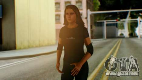 Stephani WWE para GTA San Andreas