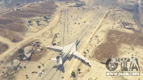 GTA 5 Tu-160 White Swan quinta captura de pantalla