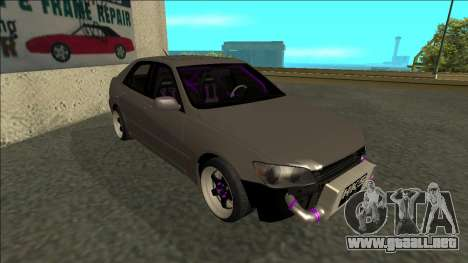 Lexus IS300 Drift para GTA San Andreas left