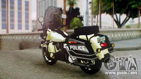 New Police Bike para GTA San Andreas left