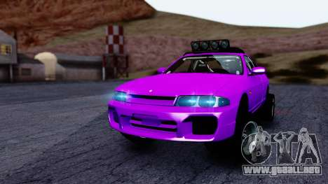 Nissan Skyline R33 Rusty Rebel para GTA San Andreas