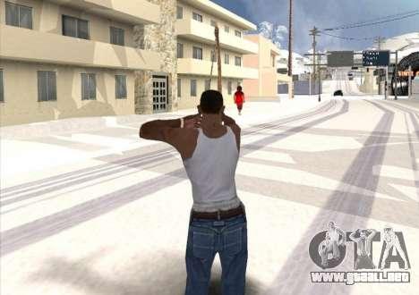 Tiro con arco para GTA San Andreas tercera pantalla