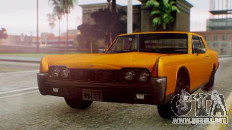 GTA 5 Vapid Chino Tunable para GTA San Andreas