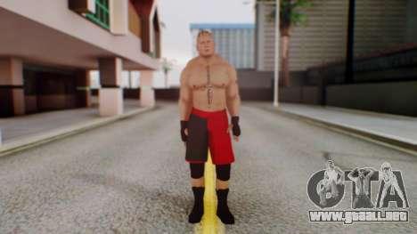 Brock Lesnar para GTA San Andreas segunda pantalla