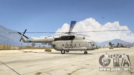 GTA 5 Mi-8 segunda captura de pantalla