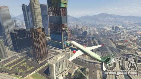 GTA 5 Embraer 195 Wind quinta captura de pantalla