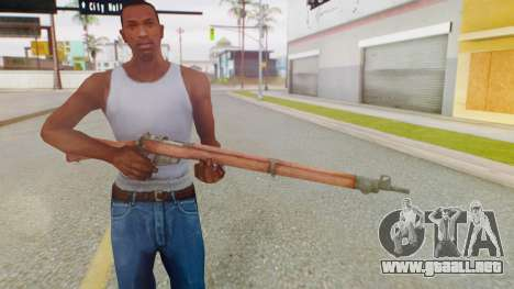 Arma OA Lee Enfield para GTA San Andreas tercera pantalla