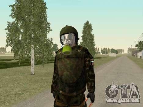Soldados rusos en la máscara de gas para GTA San Andreas sucesivamente de pantalla