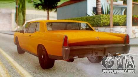 GTA 5 Vapid Chino Tunable para GTA San Andreas left
