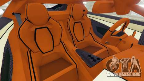 GTA 5 Jaguar C-X75 vista lateral derecha