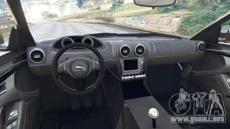 GTA 5 Jaguar F-Type 2014 vista lateral trasera derecha