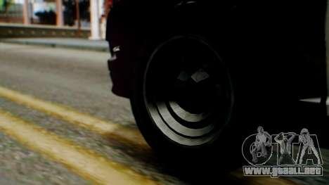 GTA 5 Police SF para GTA San Andreas vista posterior izquierda