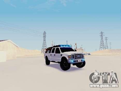 Ford F-250 Full Off-Road para GTA San Andreas