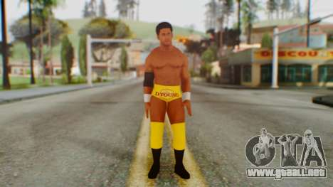 Darren Young para GTA San Andreas segunda pantalla