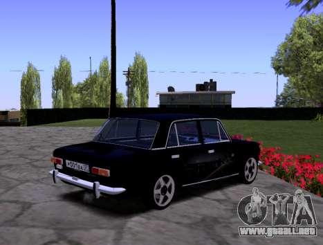 VAZ 2101 KBR para visión interna GTA San Andreas