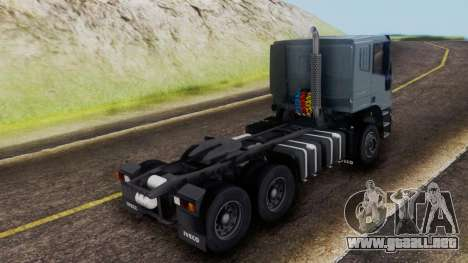 Iveco EuroTech v2.0 Cab Low para GTA San Andreas left