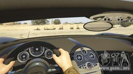 GTA 5 Bugatti Veyron v6.0 vista trasera