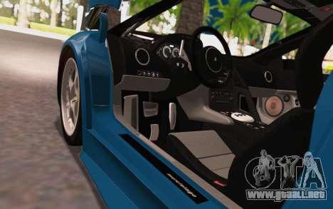 Lamborghini Murcielago 2005 para visión interna GTA San Andreas