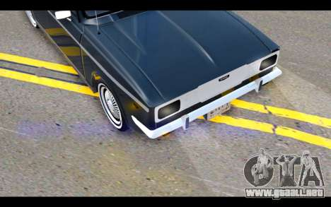 Peykan 1347 Classic para vista lateral GTA San Andreas