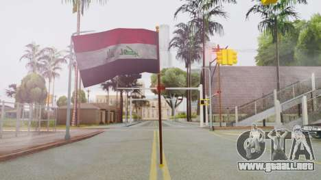 Iraq Flag HD para GTA San Andreas