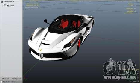 2015 Ferrari LaFerrari v1.3 para GTA 5
