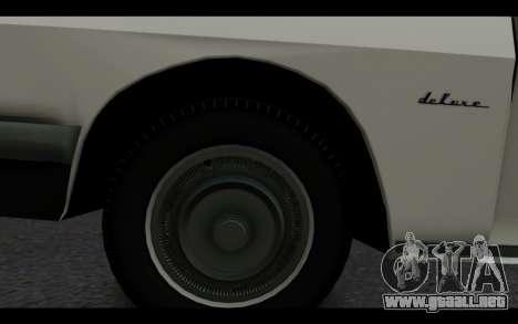 Wartburg 353 para la visión correcta GTA San Andreas