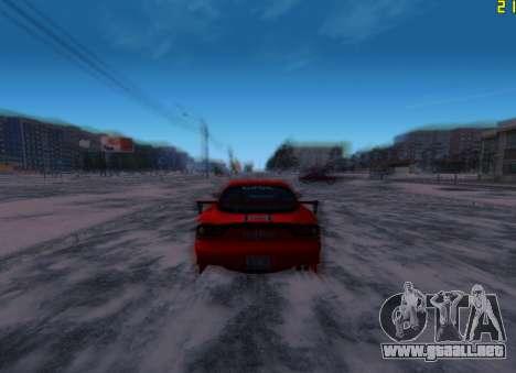 Fast ENB V.31 para GTA San Andreas tercera pantalla