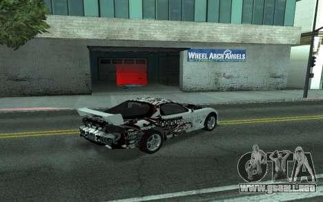 Mazda RX-7 Tunable para visión interna GTA San Andreas