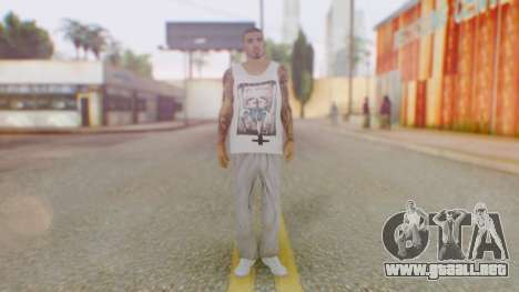 New Cesar HD para GTA San Andreas segunda pantalla